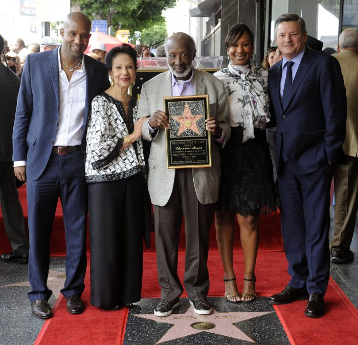 MUSIC MOGUL CLARENCE AVANT WAS HONORED ON THE HOLLYWOOD WALK OF FAME ON FRIDAY OCTOBER 7, 2016. PHOTOS BY VALERIE GOODLOE