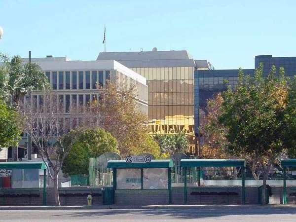 Downtown San Bernadino (Courtesy of Wikimedia Commons)