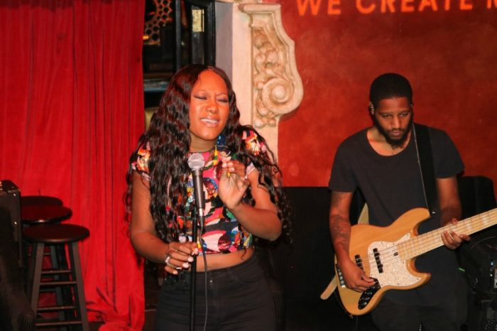 Priscilla Renea showcases her impeccable vocal range while singing renditions of the hit songs she's gained huge success for writing.(Brittany K. Jackson photo)