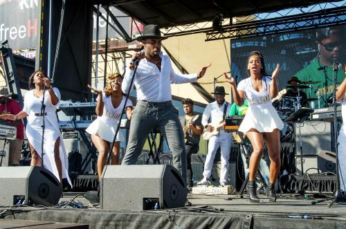 R&B artist Major