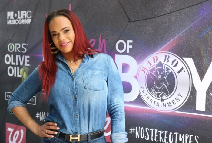Grammy-award winning artist Faith Evans says positivity will take women a long way at the Women of Bad Boy Los Angeles tour stop.(Photo Credit: Brittany K. Jackson)