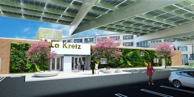 Los Angeles Department of Water and Power engineers will work alongside cleantech experts and startups to test green technology ideas and practices at the La Kretz Innovation Campus that officially opened on October 7 in downtown Los Angeles. (courtesy photo)