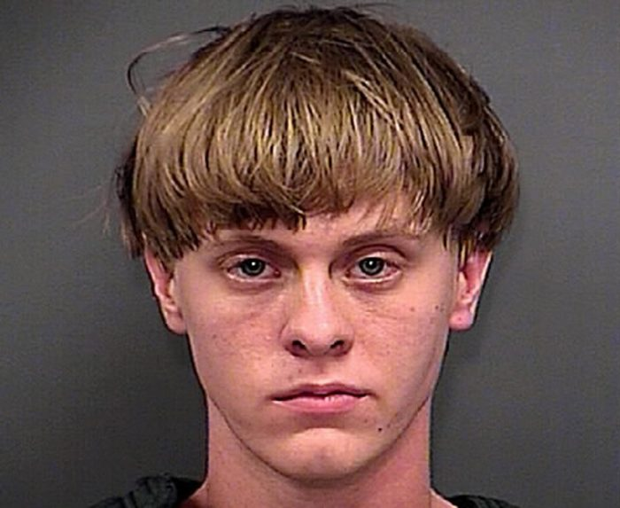 This June 18, 2015, file photo, provided by the Charleston County Sheriff's Office shows Dylann Roof. Attorneys for the man charged with killing nine people at a Charleston church are challenging federal prosecutors' intention to seek the death penalty against him. Lawyers for Roof argue in a motion filed Monday, Aug. 1, 2016, that the death penalty and federal death penalty law are unconstitutional. (Charleston County Sheriff's Office via AP, File)