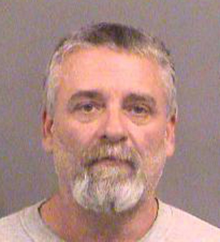 This Oct. 14, 2016 photo provided by the Sedgwick County Sheriff's Office in Wichita, Kan., shows Gavin Wright. Wright is one of three members of a Kansas militia group were charged Friday Oct. 14, 2016, with plotting to bomb an apartment building filled with Somali immigrants in Garden City, Kan. Acting U.S. Attorney Tom Beall said Curtis Wayne Allen, Patrick Eugene Stein and Wright are members of a group calling itself the Kansas Security Force. Beall says the arrests were the culmination of an eight-month investigation. (Sedgwick County Sheriff's Office via AP)