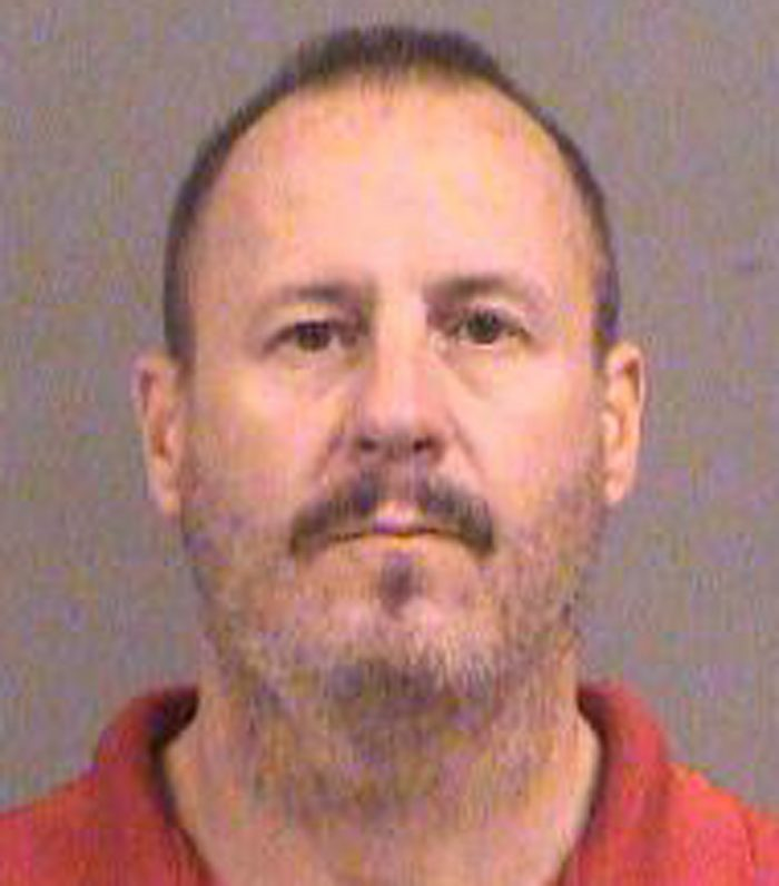 This Oct. 14, 2016 photo provided by the Sedgwick County Sheriff's Office in Wichita, Kan., shows Curtis Allen. Allen is one of three members of a Kansas militia group were charged Friday Oct. 14, 2016, with plotting to bomb an apartment building filled with Somali immigrants in Garden City, Kan. Acting U.S. Attorney Tom Beall said Allen, Patrick Eugene Stein and Gavin Wright are members of a group calling itself the Kansas Security Force. Beall says the arrests were the culmination of an eight-month investigation. (Sedgwick County Sheriff's Office via AP)