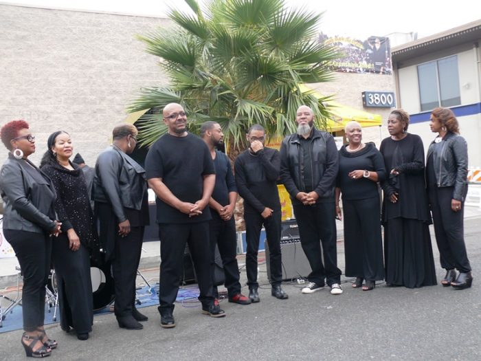 Donald Taylor and the L.A. Mass Choir (courtesy photo)