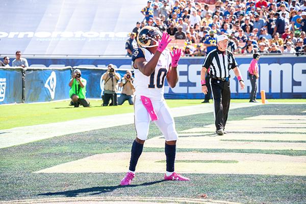 Rams wide receiver Tavon Austin (Robert Torrence/ L.A. Sentinel)