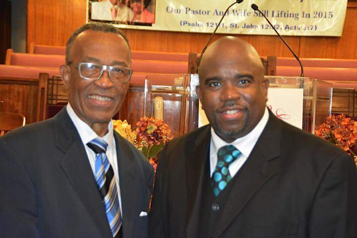 Pastor Reginald A. Pope and Rev. Don Pope II
