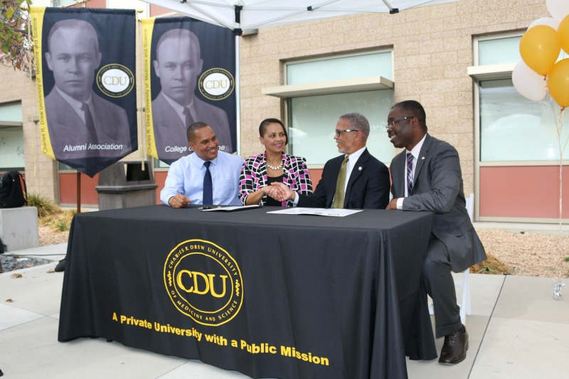 CDU and Compton Unified School District Celebrate the