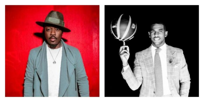 From left to right: Anthony Hamilton and Chris Paul. (courtesy photo)