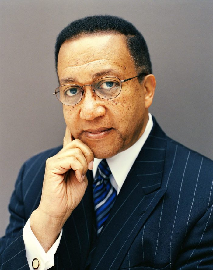 Dr. Benjamin F. Chavis says that the online and digital worlds should not be permissive of racism. (file photo)