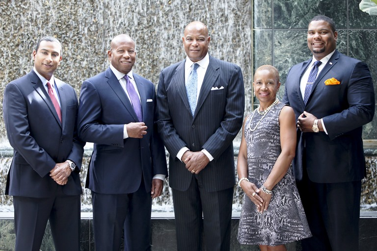 Byron M. Purcell, W. Keith Wyatt, Rickey Ivie, Eulanda L. Matthews and Rodney S. Diggs (File Photo)