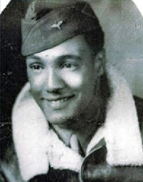 In this World War II era photo provided by the family of Wallace Higgins, Higgins is seen in a U.S Army Air Corps uniform. (Higgins family photo via AP)