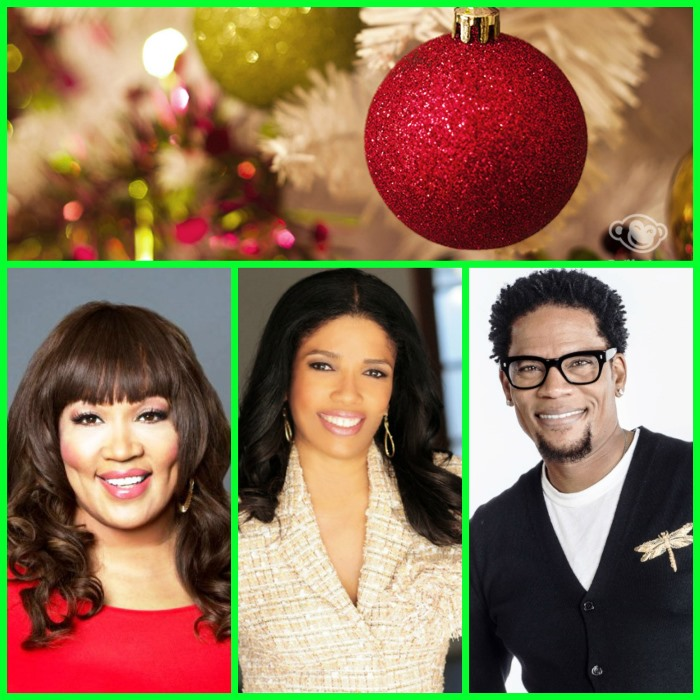 (From L-to-R):Kym Whitley, Areva Martin and D.L. Hughley
