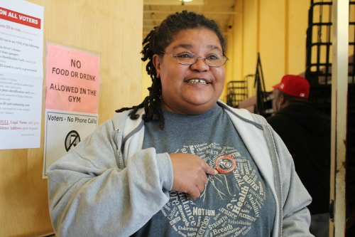 Terry Garrett is one of 60,000 Virginians who have served their time for felony convictions who was be able to vote on Tuesday, following efforts by Democratic Gov. Terry McAuliffe. (Jazmin Goodwin)