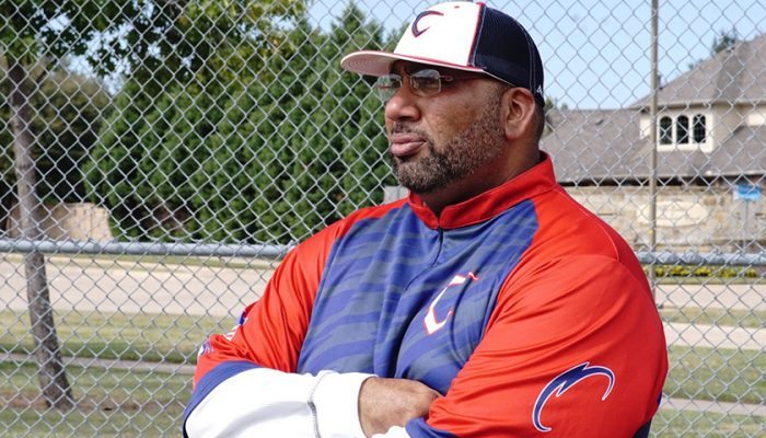 Former professional baseball star Omar Washington, leads Citius USA, one of the foremost minority youth baseball academies in the nation. (Omar Washington)