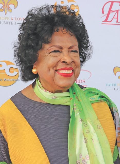 Retired U.S. Representative Diane Watson (photo by Brittany K. Jackson)