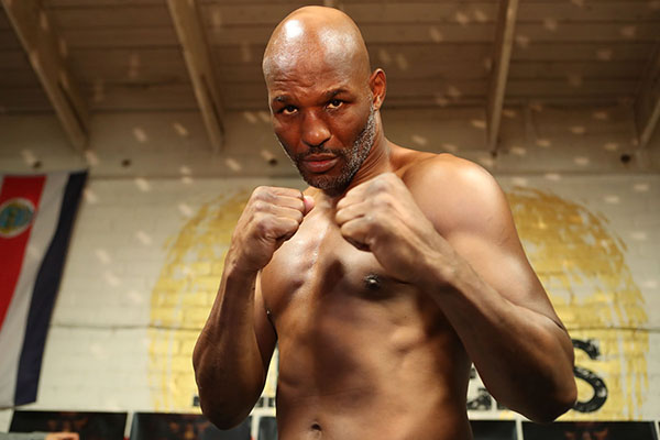 Bernard Hopkins  (Photo courtesy of Golden Boy Promotions)