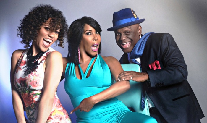 (From Left-to-Right): Loni Swain, Ebony Steele and Michael Colyar
