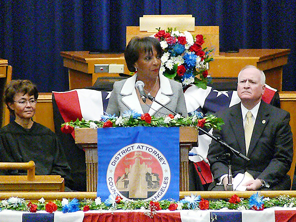 Jackie Lacey speaks on her plans during her second term (Brian W. Carter/L.A. Sentinel)
