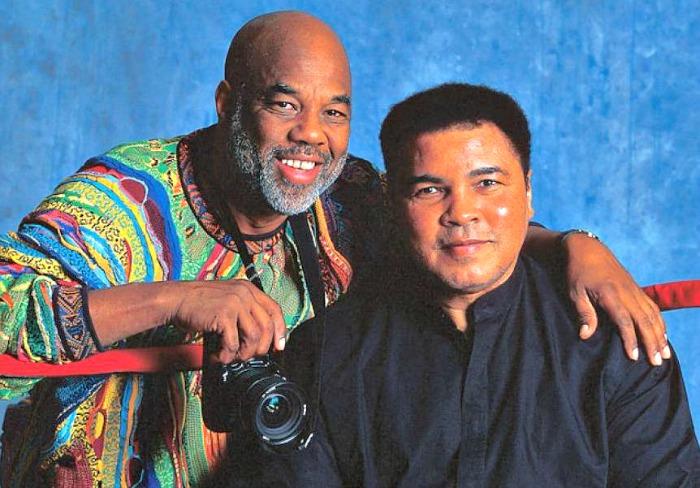 Howard Bingham and Muhammad Ali (File Photo)