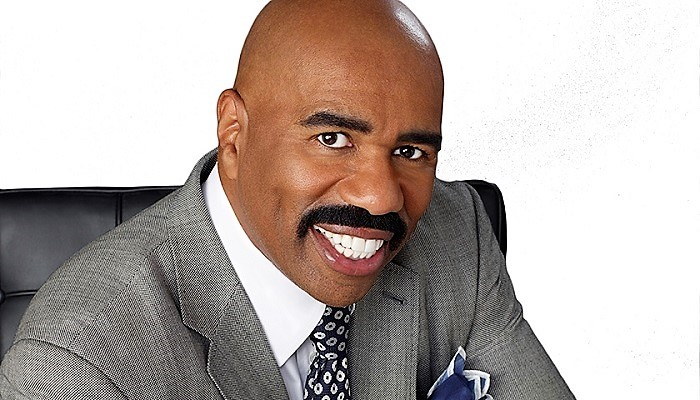 """Steve Harvey is set to host a reboot of """"Showtime at the Apollo."""" (The Steve Harvey Morning Show)"""