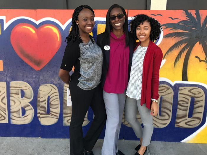 #BlackGirlMagic (l-to-r) Three African American women Chick-Fil-A franchisees. Show your support by visiting Adaobi Gwachum's restaurant in Pasadena, Ashley Derby's restaurant in Downtown L.A. and Kayla Griffin's new restaurant in Venice. Photo Courtesy: Ashley Derby
