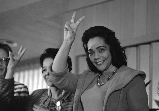 Image result for coretta scott king 1969