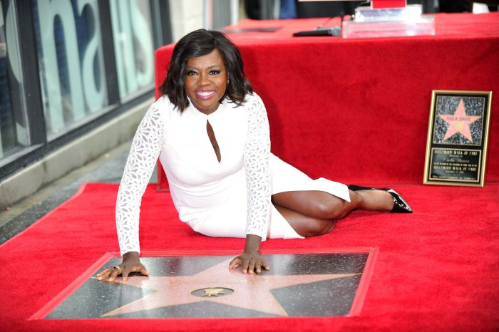 THE HOLLYWOOD CHAMBER OF COMMERCE PROUDLY UNVEILED THE FIRST WALK OF FAME STAR OF THE YEAR TO AWARD WINNING ACTRESS VIOL DAVUS THE STAR NUMBERED 2596TH WAS DEDICATED TODAY ON JANUARY 5, 2017. THE STAR CATEGORY OF MOTION PICTURES IS LOCATED AT 7013 HOLLYWOOD BLVD. PHOTOS BY VALERIE GOODLOE