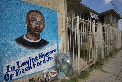 Mother of Ezell Ford speaks out against DA's refusal to file charges - Los Angeles Sentinel