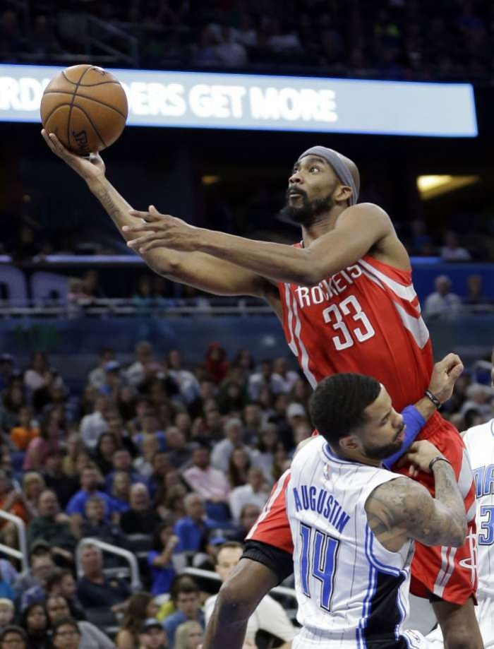 Corey Brewer has led the Rockets in net rating, with the Rockets outscoring opponents by 12 points per 100 possessions with Brewer on the court. (John Raoux/Associated Press)