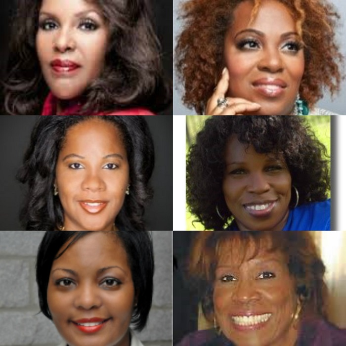 (Top Row, L-to-R): Dr. Carliss R. McGhee, Dr. Francene Breakfield; (Middle Row, L-to-R): Dr. Victoria M. Ruffin, Victoria C. Murray; (Bottom Row; L-to-R): L.D. Wells, Particia J. Thurmond