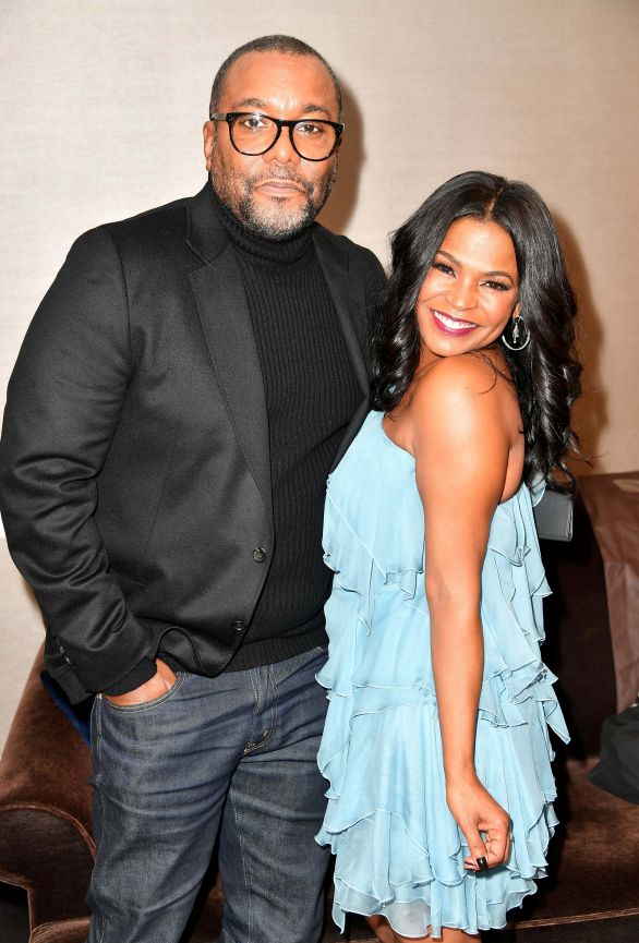 Lee Daniels and actress Nia Long. (courtesy of BET)