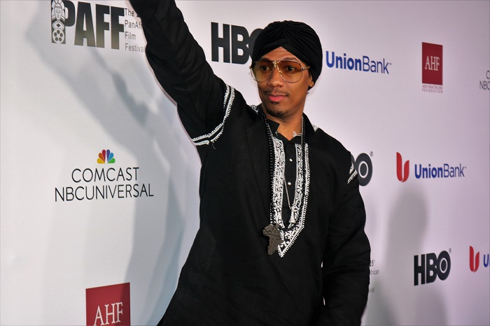 "Actor, director, producer, and business mogul Nick Cannon premieres new film ""King of the Dancehall"" at the Pan African Film Festival's opening ceremonies.Courtesy of PAFF"