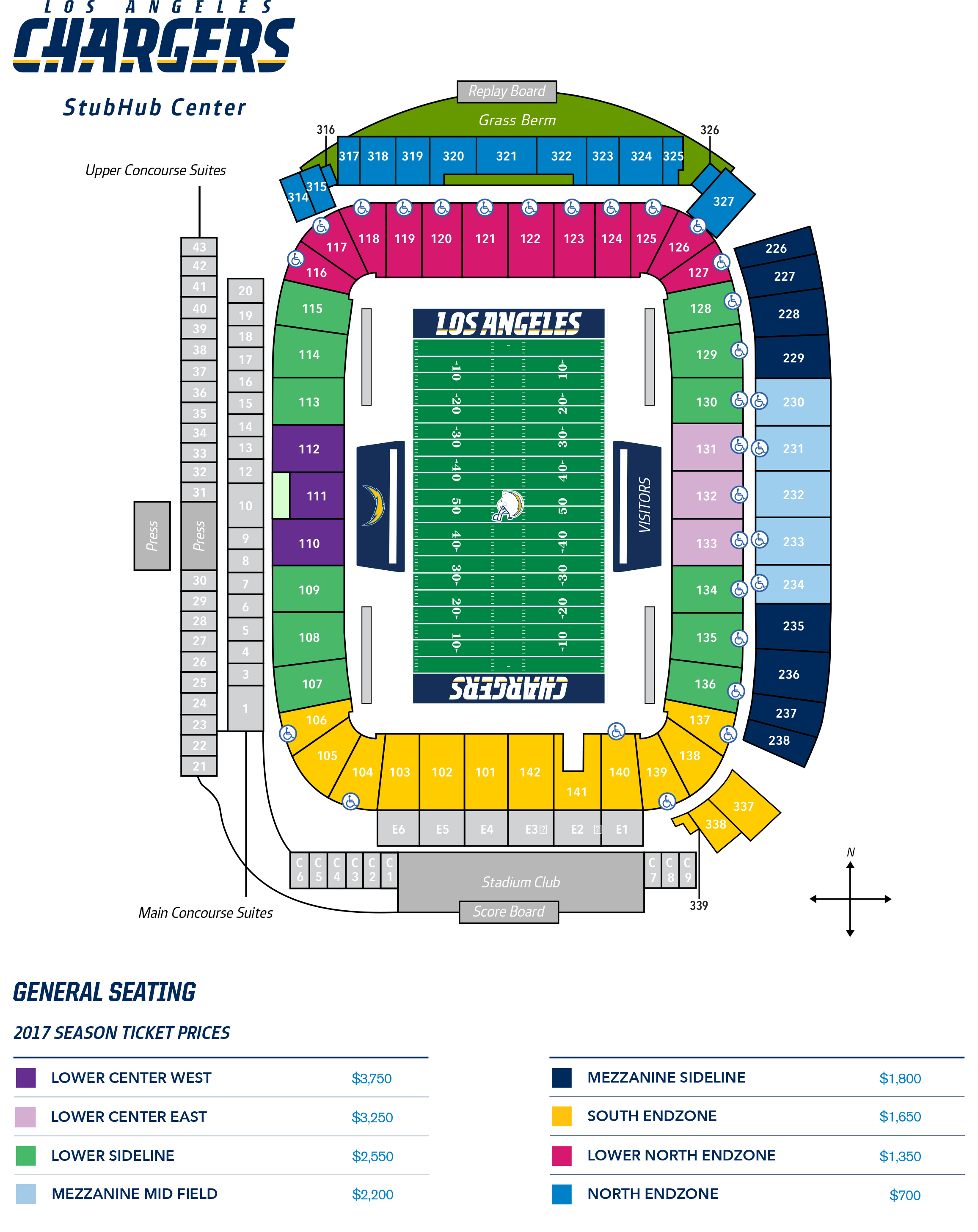 Chargers Announce 2017 Season Ticket Prices - Los Angeles Sentinel