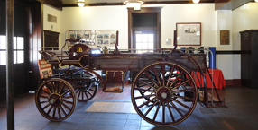 Content-pic -  One of the first fire engines on display at the African-American Firefighters Museum (Courtesy of AAFFM)