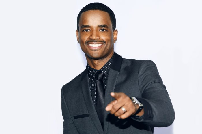 LOS ANGELES, CA - JUNE 29: Actor Larenz Tate poses in the press room during the BET AWARDS '14 at Nokia Theatre L.A. LIVE on June 29, 2014 in Los Angeles, California. (Photo by Michael Buckner/Getty Images for BET)