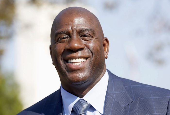 Magic Johnson  (AP Photo/Nick Ut, File)