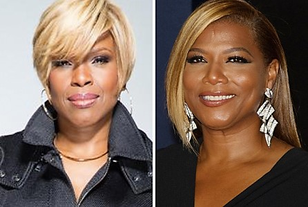 (L-to-R) Holly Carter and Queen Latifah Courtesy Photo