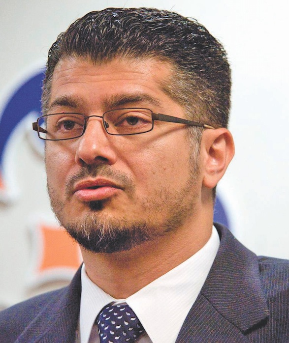Hussam Ayloush, executive director of the Los Angeles Council on American-Islamic Relations. (Photo by Ken Steinhardt, Orange County Register/SCNG)