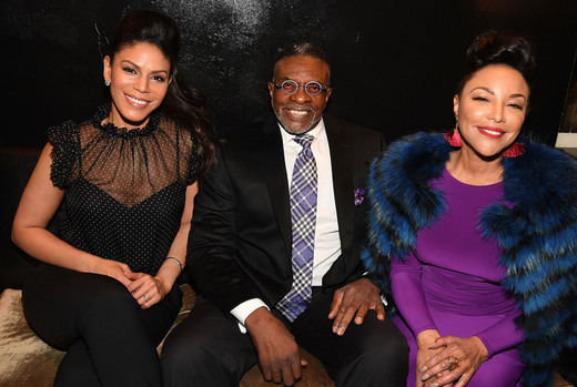 "(L-R) Merle Dandridge, Keith David, and Lynn Whitfield attend ""Greenleaf"" Season 2 Premiere Party at the W Atlanta Midtown (Getty Images for OWN)"