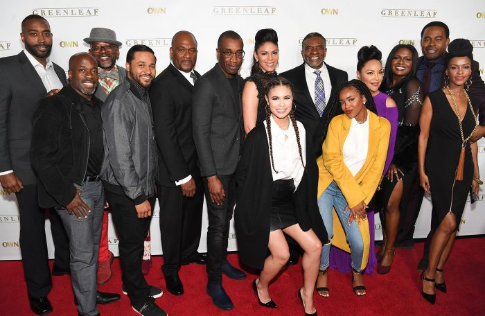 "Atlanta, GA screening and reception for ""Greenleaf"" season 2. Attending from the cast were Lynn Whitfield, Keith David, Merle Dandridge, Deborah Joy Winans, Lamman Rucker, Kim Hawthorne, GregAlan Williams, Desiree Ross, Lovie Simone, T.C. Carson, Parnell Damone Marcano, Jason Dirden, Julian Brittano and ""Greenleaf"" executive producer Clement Virgo. (Getty Images for OWN)"