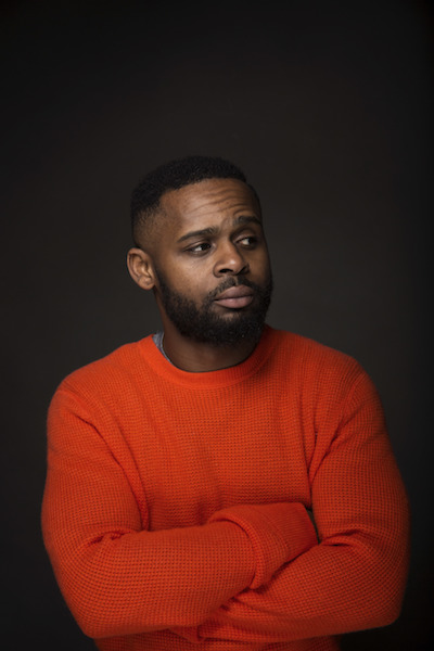 """Director Gerard McMurray poses for a portrait to promote the film, """"Burning Sands"""", at the Music Lodge during the Sundance Film Festival on Monday, Jan. 23, 2017, in Park City, Utah. (Photo by Taylor Jewell/Invision/AP)"""