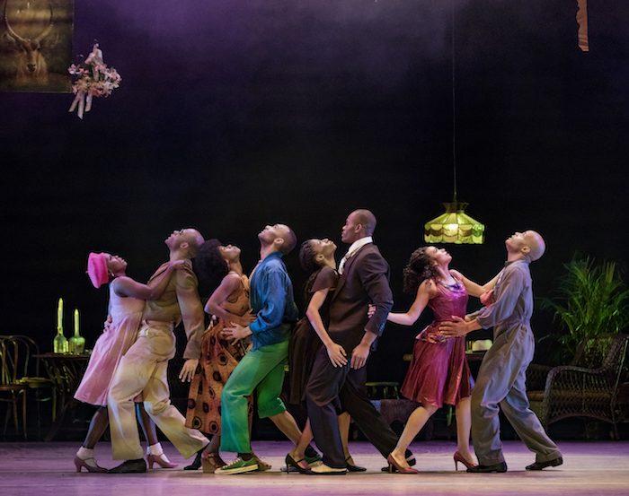 Masekela Langage Choreography: Alvin Ailey Alvin Ailey American Dance Theater (Photo by Paul Kolnik)