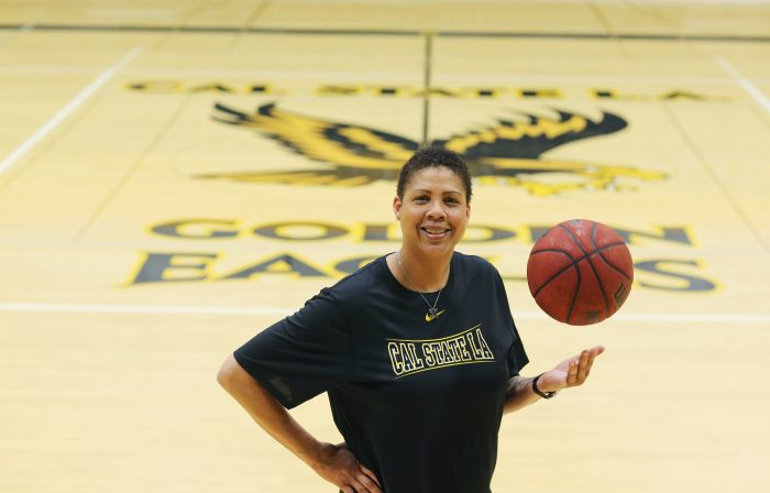 Cal State L.A. women's basketball coach Cheryl Miller (Courtesy of Cal State L.A. Athletics)