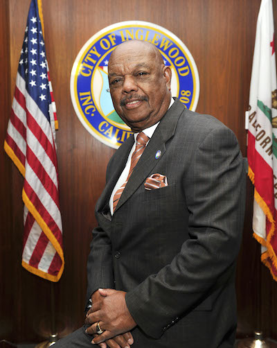 COUNCIL GEORGE DOTSON COUNCILMAN FOR THE 1 DISTRICT IN THE CITY OF INGLEWOOD PHOTOS BY VALERIE GOODLOE