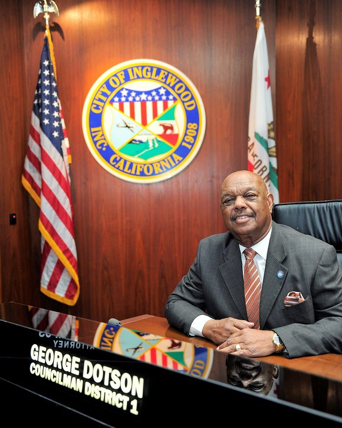 Inglewood Councilman George Dotson PHOTOS BY VALERIE GOODLOE