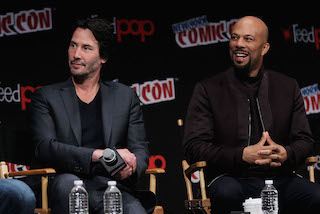 - New York, NY - 10/8/16 - Keanu Reeves, Common at John Wick: Chapter 2 Lionsgate's New York Comic Con Panel -Pictured: Keanu Reeves, Common -Photo by: Marion Curtis/StarPix