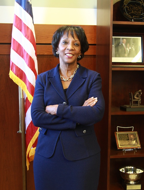 Los Angeles County District Attorney Jackie Lacey (Photo by Bishop Moore for Sentinel)