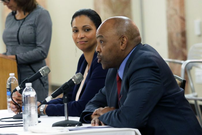 Metro CEO, Phillip Washington and Los Angeles World Airports Executive Director, Deborah Flint (courtesy photo)